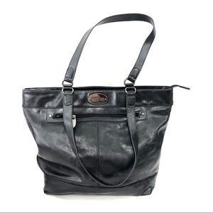 Kenneth Cole Reaction Black Large Career Tote